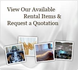View Our Available Wedding Rental Items